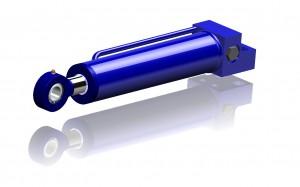 Hydraulcylinder med ventilfunktion