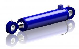Enkelverkande hydraulcylinder