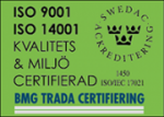 ISO9001 samt ISO14001